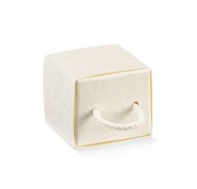 CASSETTO c/cordino harmony bianco 45x45x40