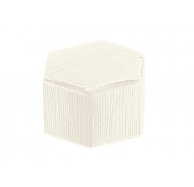 ESAGONO Seta Bianco 60x30