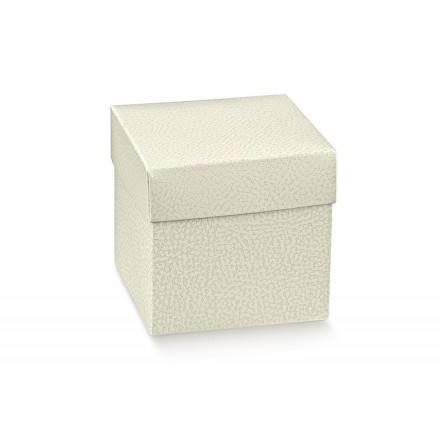 FONDO+COP. pelle bianco 165x165x170
