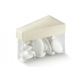 FETTA TORTA C/COP pelle bianco 80x45x50