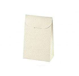 SACCHETTO pelle bianco 70x45x35