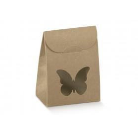 SACCHETTO c/fin.farfalla Avana 60x35x80