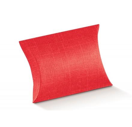 BUSTA seta rosso 70x70x25
