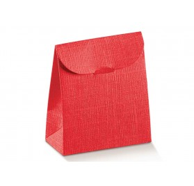 SACCHETTO seta rosso 90x45x130