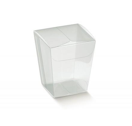 BICCHIERINO transparente 33x33x50