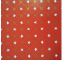 hladká červená balicí papír estrelas2
