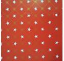 papier rouge lisse estrelas2 d'emballage