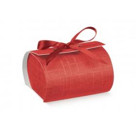BOMBON seta rosso 60x60x40