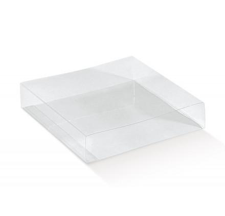 FASCETTA QUADR. transparente 60x60x32