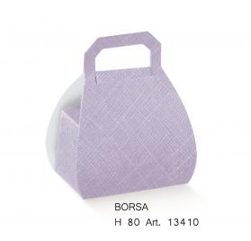 BORSA seta lilla H.80