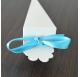 Fita Azul Claro Cetim tiras 20cm para cones