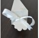 Fita Branca Cetim tiras 20cm para cones