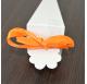 Fita Laranja Cetim tiras 20cm para cones