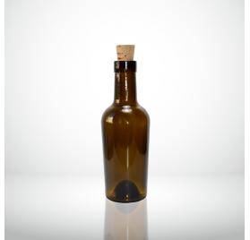 Garrafa vidro Vecchia Aceto Escura 250ml 25cl