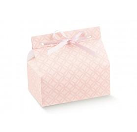 CHIC matelasse rosa 140x90x60
