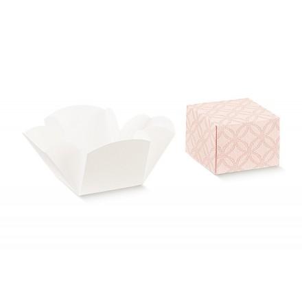 FLEUR (senza finestra) matelasse rosa 50x50x50