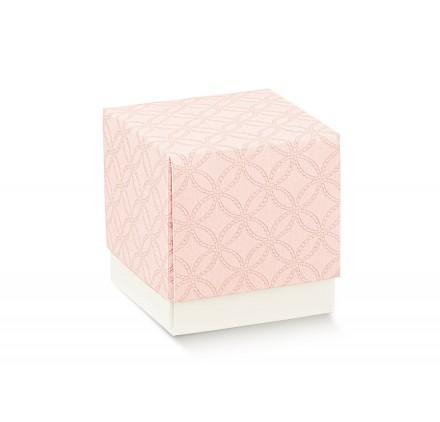 FLEUR (senza finestra) matelasse rosa 70x70x70