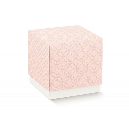 FLEUR (senza finestra) matelasse rosa 90x90x90
