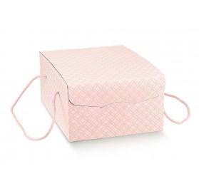 SEGRETO c/cordini matelasse rosa 270x210x120