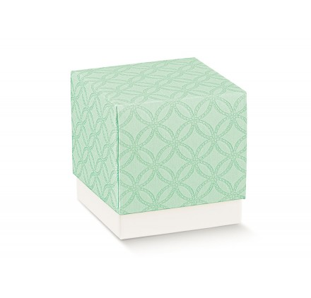FLEUR (senza finestra) matelasse verdino 70x70x70