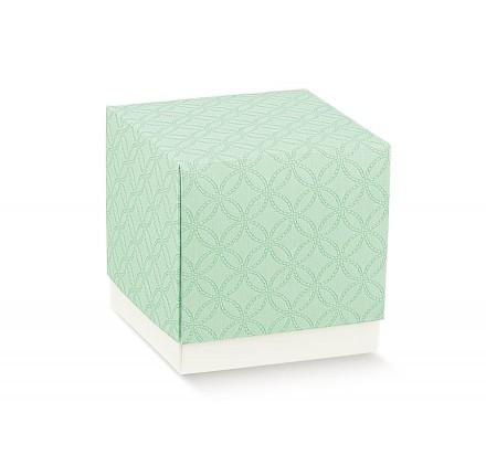 FLEUR (senza finestra) matelasse verdino 90x90x90