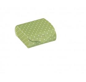 Couvette dots menta 65x45x30