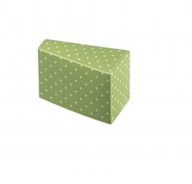 Fetta Torta dots menta 80x45x50