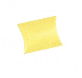 BUSTA seta giallo 70x70x25