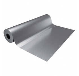 Silver smooth eco wrapping paper