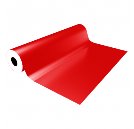 Smooth red eco gift wrap