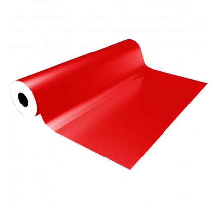 Glatt rød eco gavepapir