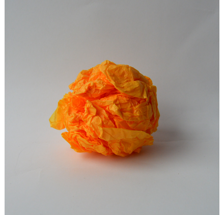 Papel de seda Amarelo Torrado