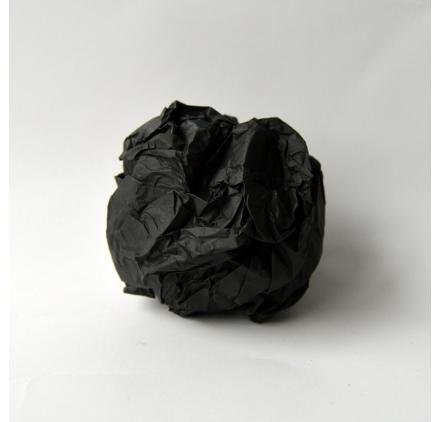 Papel de seda Infinitum Black