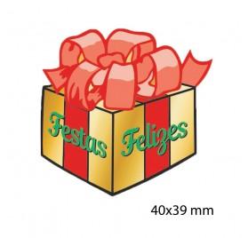 Etiqueta Autocolante de Natal 9