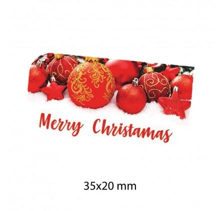 Etiqueta Autocolante de Natal 16