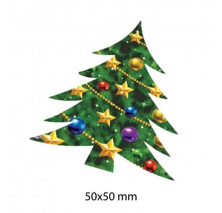 Etiqueta Autocolante de Natal 17