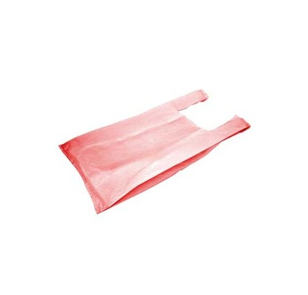 saco supermercado 45x55 vermelho